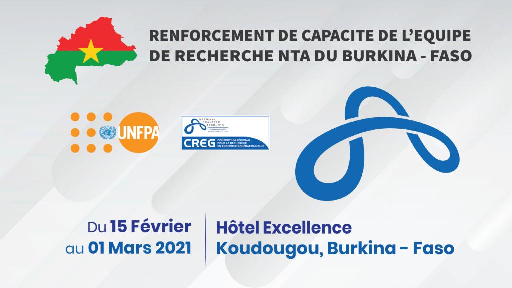 Annonce Renforcement Capacite Equipe Recherche Burkina - CREG